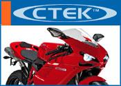Ctek acculader of druppellader voor Ducati