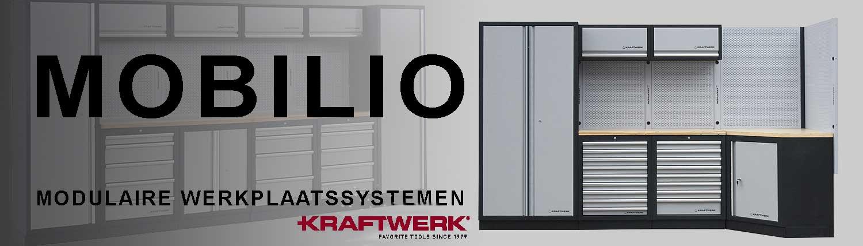 Mobilio werkplaatssystemen by Kraftwerk Tools